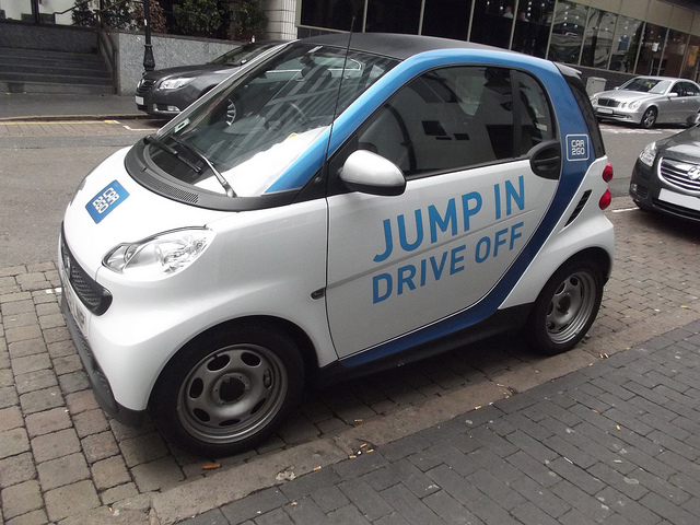 Car2go, Smart, Carsharing, Berlin, Mietauto,