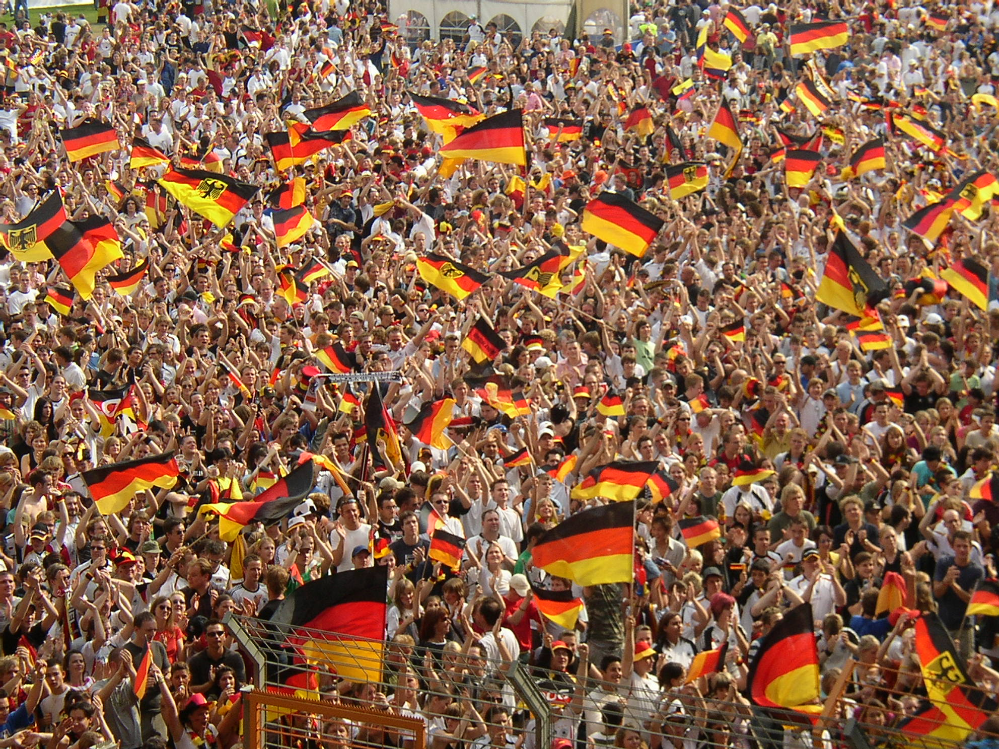Public Viewing in Berlin